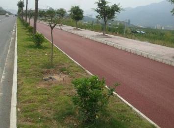彩色沥青路面施工的结构设计与施工
