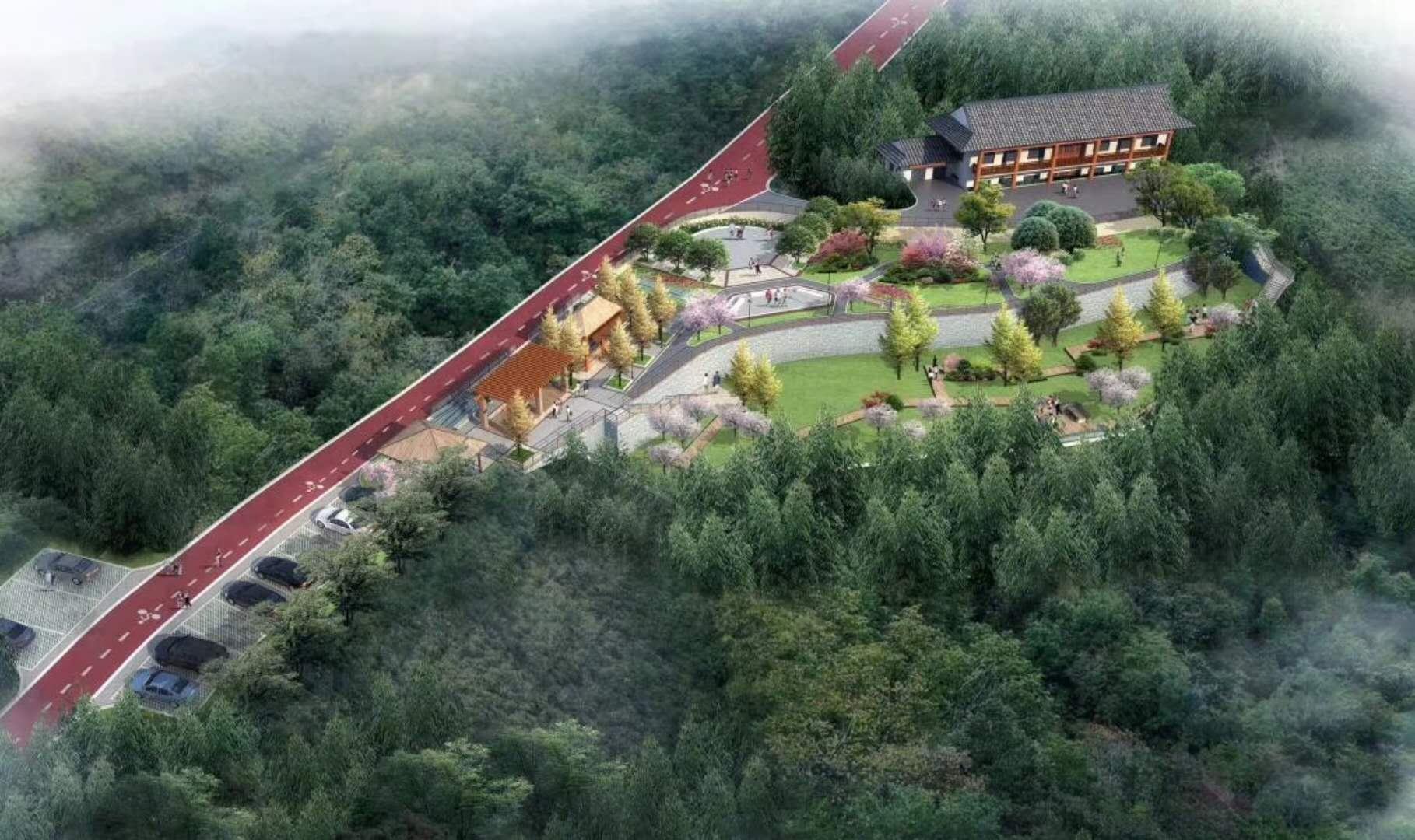 贵州省桐梓县东山森林公园位于县城中心城区东侧,西邻小西湖天门洞景
